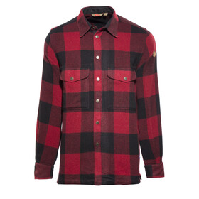 Fjällräven Canada Longsleeve Shirt Men red/black